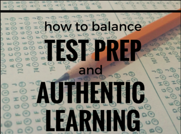 Balancing Test Prep With School