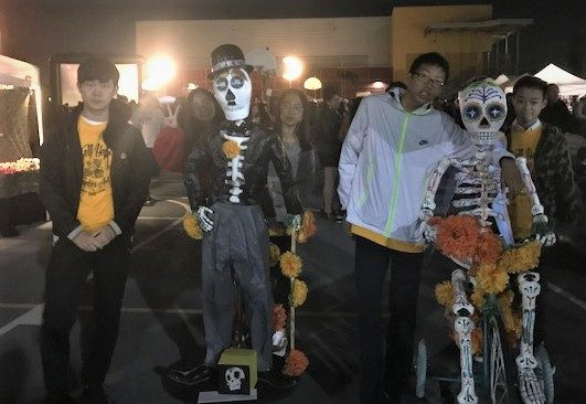 Thank You To Our Dia De Los Muertos Volunteers!