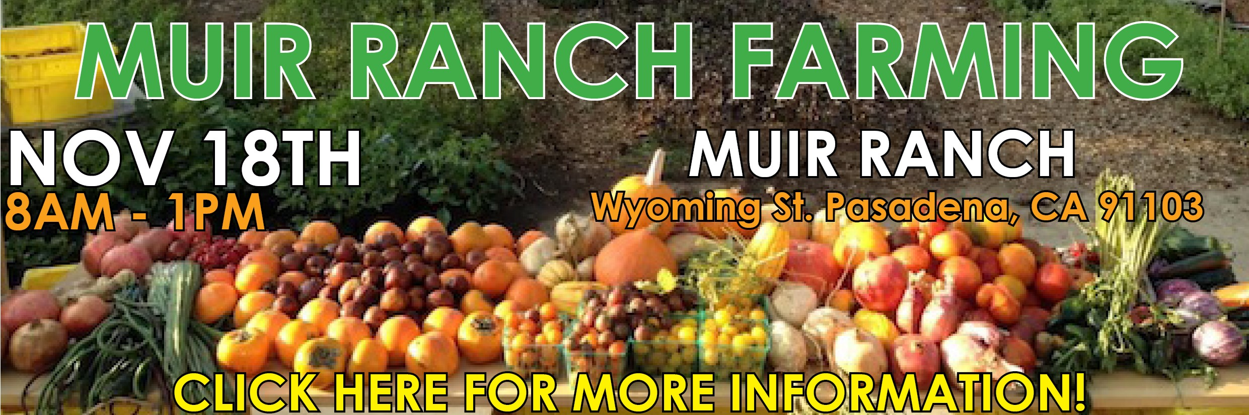 Muir Ranch Banner
