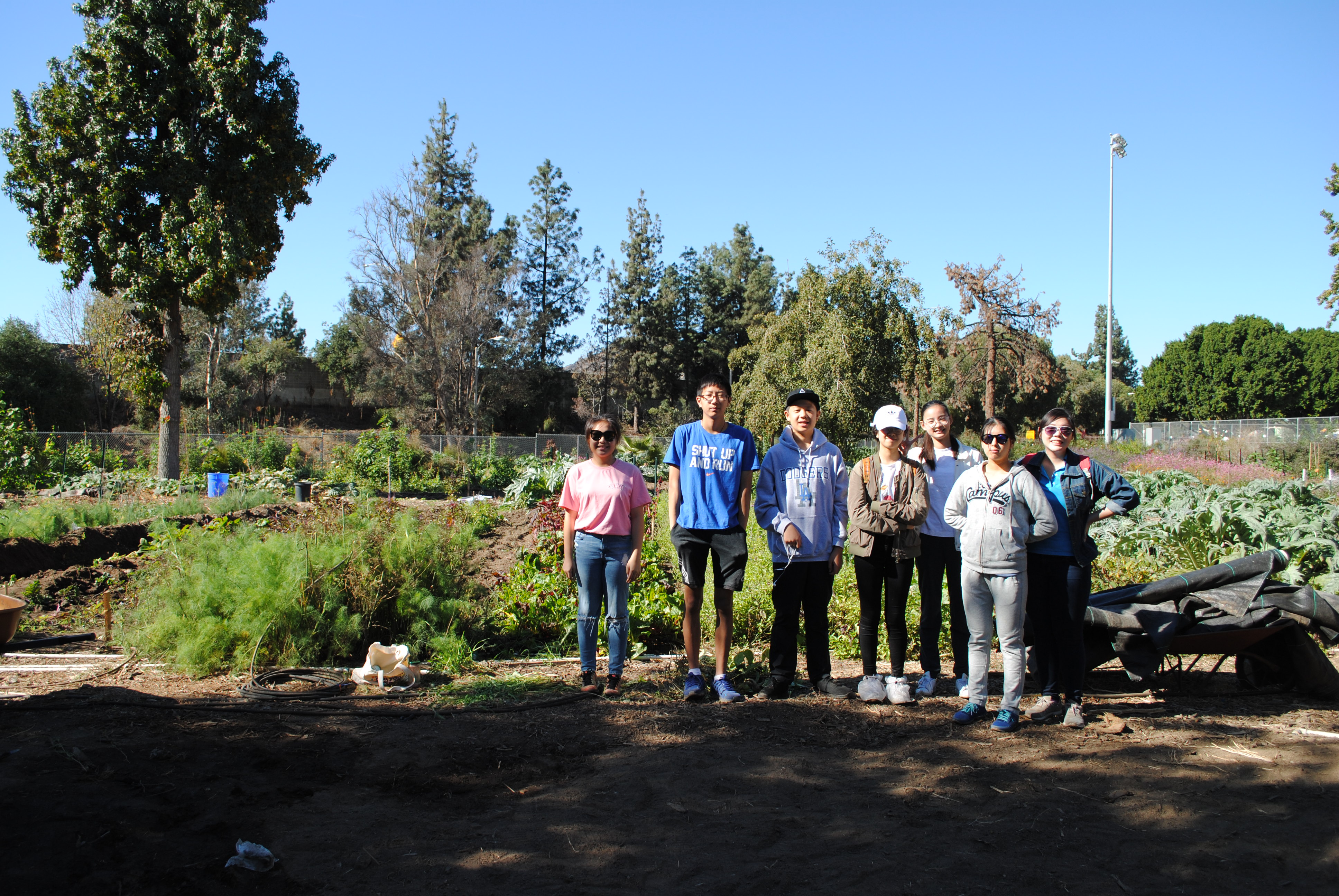 Thank You To Our Muir Ranch Volunteers!